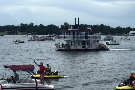 False River 4th of July Boat Parade & Rhythms on the River